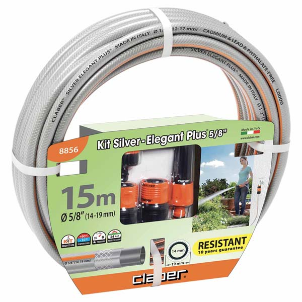"Kit 15 m Silver Elegant Plus Ø 5/8"" (14-19 mm)"