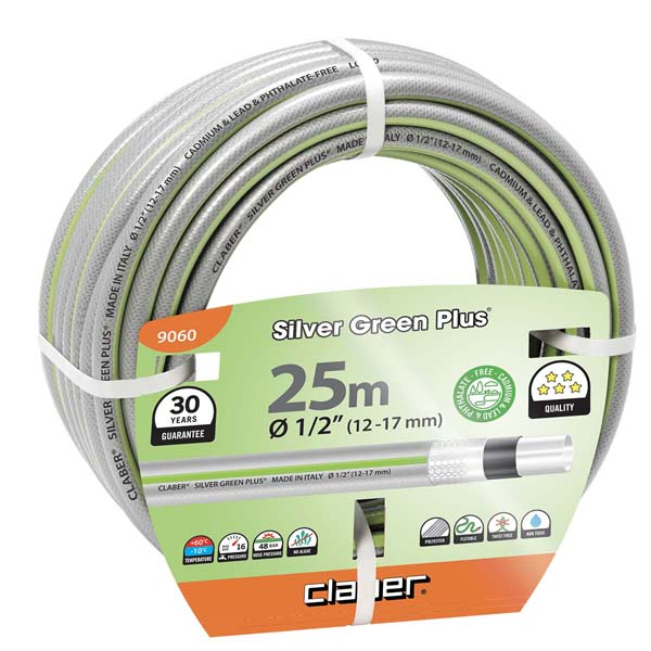 "Silver Green Plus m 25 Ø 1/2"" (12-17 mm)"