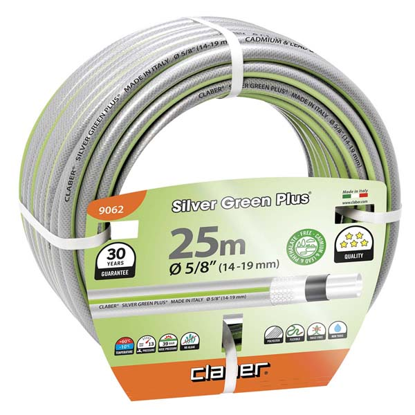 "Silver Green Plus m 25 Ø 5/8"" (14-19 mm)"