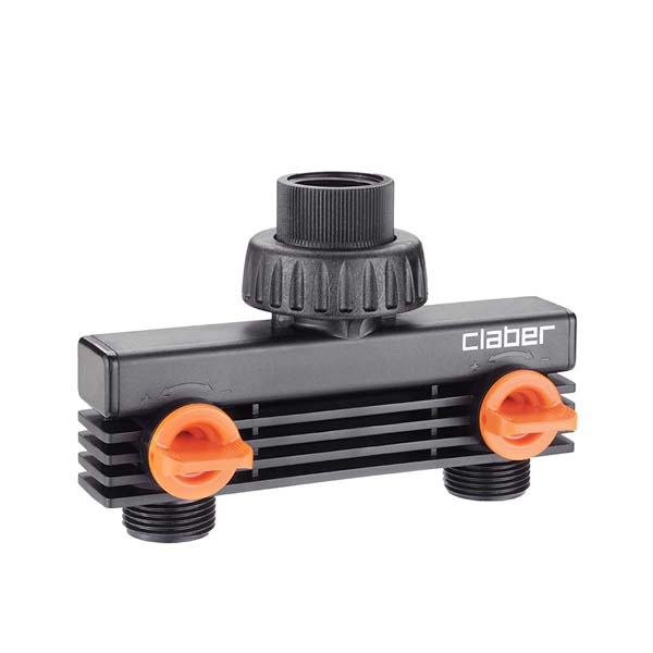 "3/4"" (20 - 27 mm) male threaded two-way adapter"