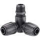 "1/2"" thread elbow connector (15 - 21 mm)"