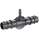 "1/2"" (13 - 16 mm) - 1/4"" (4 - 6 mm) 2-way coupling"